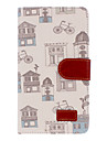 For Samsung Galaxy Note Card Holder / Wallet / with Stand / Flip / Pattern Case Full Body Case Cartoon PU Leather Samsung Note 3