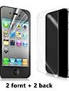 Haute Qualité Crystal HD écran clair Film de protection pour iPhone 4/4S