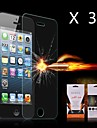 Ultimate Shock Absorption Screen Protector for iPhone 4/4S(3PCS)