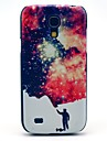 Man e Space Star Pattern Tampa Hard Case Voltar para Samsung Galaxy S4 Mini I9190