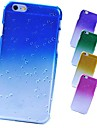 Raindrop Frosted Back Case for iPhone 6 Plus (Assorted Color)