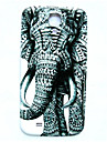 motif d'éléphant animal mince couverture de cas dur pour les i9500 Samsung Galaxy S