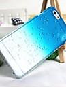 3d gotas da chuva estojo rígido padrão pc para iphone6 (cores sortidas)