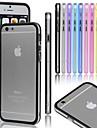 Pour Coque iPhone 5 Transparente Coque Antichoc Coque Couleur Pleine Dur Polycarbonate pour iPhone SE/5s/5