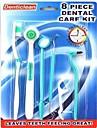 8 pcs dentes ferramentas de higiene bucal