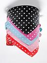 Cat / Dog Collar / Collar Bandana Bandanas Red / Black / Blue / Pink / Rose PU Leather