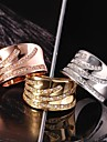 Fashion Gold Plated Women (Zircon Inlaid) Statement Rings (1 Pc)