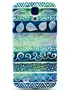 For Samsung Galaxy Case Pattern Case Back Cover Case Geometric Pattern TPU Samsung S4