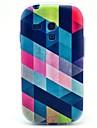 Colorful Diamond Pattern Soft Case for Samsung Galaxy S3 Mini I8190