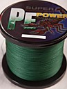 1000M / 1,100 야드 PE 꼰 선 / Dyneema 낚시줄 다크 그린 30LB / 50LB / 40LB / 45LB 0.26mm,0.29mm,0.30mm,0.32mm mm 용바다 낚시 / 플라이 피싱 / 베이트 캐스팅 / 얼음 낚시 /