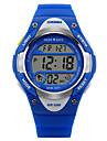 SKMEI 아동 캐쥬얼 시계 디지털 시계 스포츠 시계 석영 디지털 일본 쿼츠 고무 밴드 블랙 블루 핑크