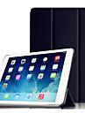 용 스탠드 / 자동 슬립/웨이크 기능 / 오리가미 케이스 풀 바디 케이스 단색 하드 PC Apple iPad Air