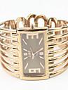 Женские Модные часы Часы-браслет Кварцевый сплав Группа Кольцеобразный Элегантные часы Розовое золото