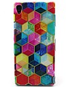 Painted Pattern TPU Material Soft Phone Case for Sony Xperia Z3