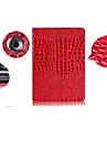 solide modele couleur de la peau de crocodile PU Housse etui en cuir pour iPad 2/3/4 (couleurs assorties)