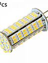 5 pieces g4 126 5w smd 3014 450-500lm chaud MR11 blanc blanc / froid lumieres decoratives a deux broches (ac / dc 12-24)