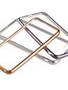 용 아이폰6케이스 / 아이폰6플러스 케이스 도금 / 투명 케이스 뒷면 커버 케이스 단색 소프트 TPU iPhone 6s Plus/6 Plus / iPhone 6s/6