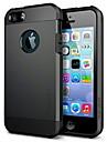 Pour Coque iPhone 5 Antichoc Coque Coque Arriere Coque Armure Flexible Silicone pour iPhone SE/5s/5