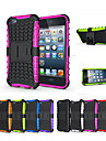 Soft Silicone Hard Plastic Shell Holder Stand Phone Funda Case For Apple iPod touch 5