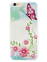 나비의 펄럭이는 다이아몬드 꽃 전화 쉘 그린 릴리프가 아이폰 6를 신청 플러스 | 기가을 플러스