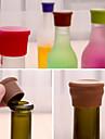 doces cor de silicone garrafa rolha de fresco comestivel cerveja cortica galheteiro cor aleatoria