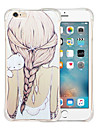 Pour Coque iPhone 6 / Coques iPhone 6 Plus Antichoc / Transparente / Motif Coque Coque Arriere Coque Dessin Anime Flexible SiliconeiPhone