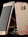 Для Samsung Galaxy Note Прозрачный Кейс для Задняя крышка Кейс для Цветы TPU Samsung Note 5 / Note 4 / Note 3