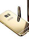 용 도금 / 거울 케이스 뒷면 커버 케이스 단색 하드 PC Samsung Grand Prime / Core Prime