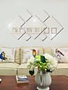 Moda / Fantasia / 3D Wall Stickers Autocolantes de Parede Espelho,PVC 20x20X0.1