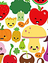 Removable Fruit and Vegetable Wall Sticker for Refrigerator and Kitchen