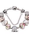 Mulheres Para Meninas Pulseiras com Pendentes Bracelete Pulseiras Strand Cristal Duravel Europeu Moda Com Micangas bijuterias Cristal