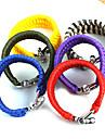 Beadia 1Pc Whistle Life-saving Bracelet & Survival ParaCord Bracelet Christmas Gifts
