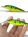 10 Pcs Hard Bait Super Quality 10 Colors 11cm 10.5g Hard Bait Minnow Fishing Lures Bass Fresh Saltwater 6#hook