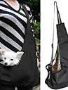 Gato Cachorro Tranportadoras e Malas Mini Mensageiro Animais de Estimacao Cestos Portatil Verde Azul Listra Vermelho/Branco Branco / azul