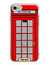 Telephone booth TPU  Case For Iphone 7 7Plus 6S/6 6Plus/5 5S SE