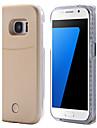 Pour Samsung Galaxy S7 Edge LED Coque Coque Arriere Coque Couleur Pleine Dur Polycarbonate pour Samsung S7 edge S7 S6 edge plus S6 edge S6