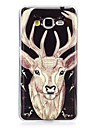 For Samsung Galaxy 7 (2016) J7 J5 (2016) Cover Case Glow in The Dark IMD Pattern Case Back  deer Soft TPU forJ5  J3  J3 (2016) Galaxy Grand Prime