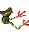 ziqiao 3d лягушки водонепроницаемый стикер автомобиля смешно геккон автомобили&мотоциклы стикера