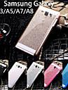 Para Samsung Galaxy Capinhas Other Capinha Corpo Inteiro Capinha Brilho com Glitter PC Samsung A8 / A7 / A5 / A3