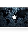 1개 스크래치 방지 지도 투명 플라스틱 바디 스티커 패턴 용MacBook Pro 15\'\' with Retina MacBook Pro 15\'\' MacBook Pro 13\'\' with Retina MacBook Pro 13\'\' MacBook Air