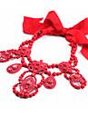 Ожерелье женщин ошейник нерегулярные хромовые богемские украшения для подарка valentine 1pc