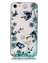 147 Case Cover Embossed Pattern Back Cover Case Butterfly Flower Soft TPU for AppleiPhone 7 Plus iPhone 7 iPhone 6s Plus iPhone 6 Plus