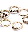 Midi Rings Jewelry Unique Design Fashion Vintage Alloy Gold Jewelry For Wedding Party Daily Casual 1set 1pc