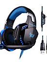 gaming headset graves profundos de jogos de computador fones de ouvido com microfone levou luz para gamer computador pc