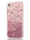 Para iPhone 8 iPhone 8 Plus Case Tampa Com Strass Liquido Flutuante Transparente Capa Traseira Capinha Glitter Brilhante Rigida PC para