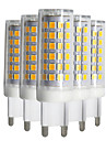 9W LED a Double Broches T 88 SMD 2835 750-850 lm Blanc Chaud Blanc Froid Blanc Naturel Intensite Reglable V 5 pieces