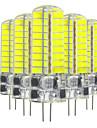5W Двухштырьковые LED лампы T 72 SMD 5730 400-500 lm Тёплый белый Холодный белый V 5 шт.