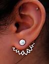 Women\'s Stud Earrings Rhinestone Costume Jewelry Fashion Euramerican Alloy Flower Jewelry For Party
