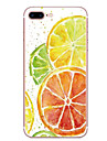 Case For Apple iPhone 7 7 Plus Case Cover Orange Pattern HD Painted TPU Material Soft Case Phone Case For iPhone 6S 6 Plus