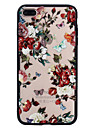 Case Cover for iPhone 7 plus 7 Pattern Back Cover Case Rose Hard PC for 6S plus 6 SE 5S 5